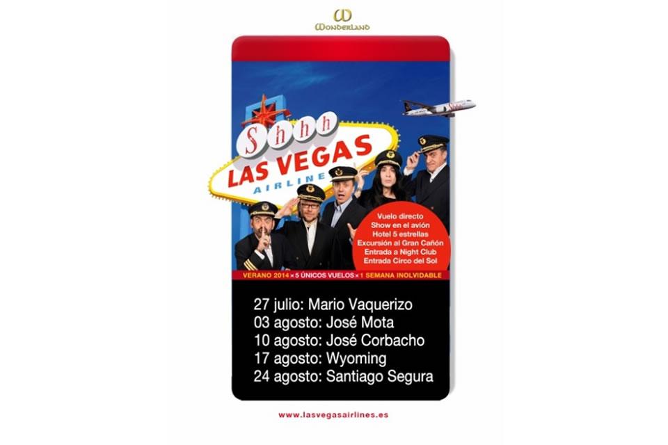 fechas vuelos shhh cabaret las vegas airlines